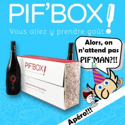 Pif'Apéro! LA box Apéro